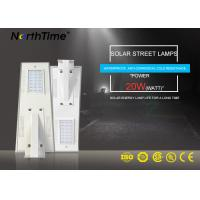 Wholesale Time Control Solar Panel Motion Sensor Street Lights 3 Years Warranty from china suppliers