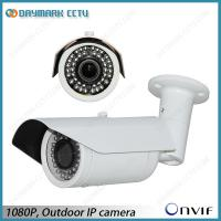 Wholesale Plug and Play 1080P IP Bullet Camera 30m IR Night Vision Motion Detection from china suppliers