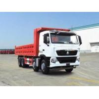 Wholesale 336 hp 8x4 heavy duty dump truck front lift HW76 cab , Howo tipper truck from china suppliers