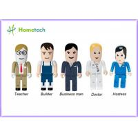 Wholesale Portable Character USB Drives Doctor With Durable Solid State Storage , Doctor / Nurse Model from china suppliers