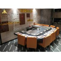 Buy cheap Arch Shape Electromagnetic Teppanyaki Grill Fume Purifier Hibachi Table from wholesalers
