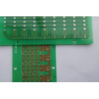 Buy cheap Customized Green CopperCircuit Board Single Sided PCB Board Making from wholesalers