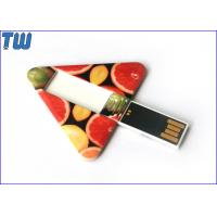 Wholesale Custom Printing Plastic Triangle Twister 2GB Thumbdrives Stick from china suppliers