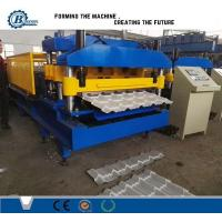 Wholesale CNC Metal Roof Tile Roll Forming Machine With Thickness 0.3-0.7mm 8000kg from china suppliers