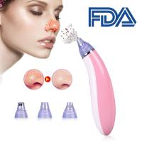 Wholesale Pink White Facial Pore Cleanser Blackhead Acne Remover CE RoHS Certification from china suppliers