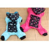 Wholesale Pet Winter Medium Dog Clothes Jumpsuits Cotton / Jacket For Poodle from china suppliers