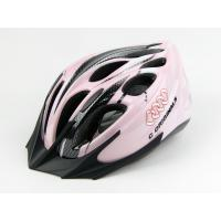 Wholesale Custom Mountain Adult Bicycle Helmet Pink Simple With 18 Vent Holes from china suppliers