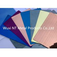 Wholesale Titanium Coated Embossed Color Stainless Steel Sheet Thickness 0.3-3.0mm from china suppliers