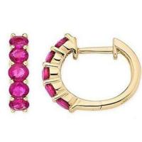Wholesale Ruby earring from china suppliers