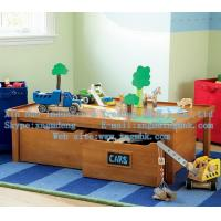Buy cheap Tables of wooden toys, wooden storage toy table, wooden storage table, wooden table from wholesalers