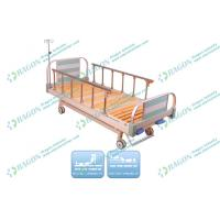 Wholesale Aluminium Collapsible Side Rails Manual Hospital  Bed With Two Functions from china suppliers