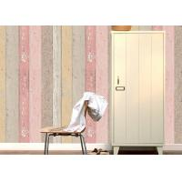 Wholesale Colorful Wood Foam Waterproof PVC Vinyl Wallpaper Vertical Stripe Wallpaper from china suppliers