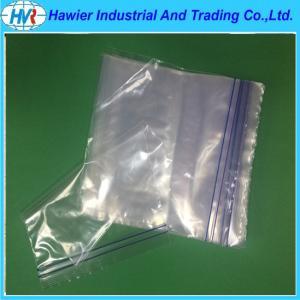 Quality Eco-friendly transparent food plastic zipper bag for sale