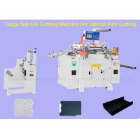 Wholesale Stable Cutting Pressure Flatbed Die Cutting Machine For Diffusion Film from china suppliers