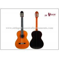 "Wholesale OX - bone and 650mm length natural Colour , Spain Style Neck Joint Solid 39"" Classical Guitar from china suppliers"