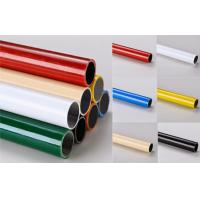 Wholesale Multi color  ESD Black  Lean Pipe PE Coated 0.8MM / 1.0MM / 1.2MM Thickness Pipe from china suppliers