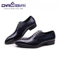 Wholesale crocodile luxury genuine leather men shoes  for wedding or office from china suppliers