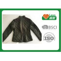 Wholesale Women Lightweight Warm Down Jacket , Olive Color Windbreak Down Filled Jacket from china suppliers
