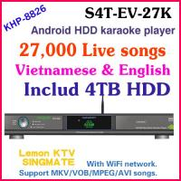 Wholesale 27850 Vietnamese&English songs include 4TB HDD+ Android Karaoke player with 1080P ,air KTV, Insert Coin from china suppliers