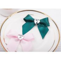 Wholesale Decoration Tie Satin Ribbon Bow WashableHome Textile With Dyeing from china suppliers
