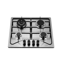 Wholesale Popular Stainless Steel Four Burner Gas Hob Built In 110V Auto Ignition For Cooking from china suppliers