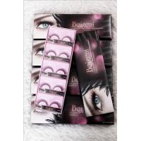 Wholesale Korea soft material synthetic false strip eyelashes individual 10 pair/pack from china suppliers
