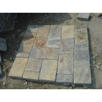 Wholesale Natural Rust Slate Tumbled Stone Mulitcolor Slate Patio Flooring Paving Stone Rusty Slate from china suppliers