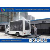 Wholesale P5 Outdoor Truck Mounted Led Display Video Wall , 7000cd Advertising Mobile Led Signs from china suppliers