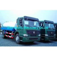 Wholesale 371 Horsepower Water Tanker Truck / Oil Tanker Truck , 400L Fuel Tank from china suppliers