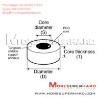Wholesale Tungsten Carbide Supported Diamond Die Blanks Alisa@moresuperhard.com from china suppliers