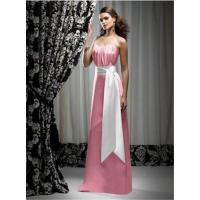 Wholesale Hot-sale pink strapless floor-length bridal evening dress / wedding gowns HL-070 from china suppliers