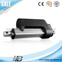 Buy cheap 24v dc 500mm stroke powerful linear actuator with hall sensor for single axis solar tracker from wholesalers
