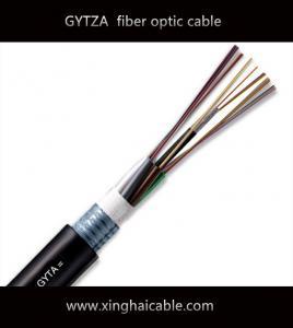 Quality 2017 hot  sale  GYTA 24  core G652D communication fiber optic cable for sale