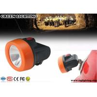 Wholesale OEM Safety Miners Helmet Light , ABS Materials 2.8Ah Hard Hat Headlamp  from china suppliers