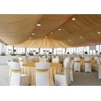 Wholesale 500 People Big Outdoor Clear Roof Marquee Party Tent For Wedding Reception from china suppliers