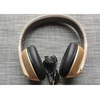 Wholesale Golden Bluetooth Headphones Noise Cancelling Over Ear  For Children / Adults from china suppliers