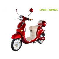 Wholesale 48V 500W Electric Pedal Scooter , Electric Moped Scooter For Women from china suppliers
