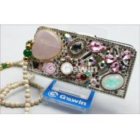 Wholesale 3D Swarovski Diamond mobile phone case , Wearproof and Lightweight from china suppliers
