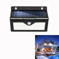Quality Energy Saving Solar Powered Wireless LED Wall Lamp With PIR Motion Sensor for sale