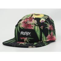 Wholesale Fashion Woman / Lady Printed Baseball Caps Cotton Colorful  22 - 23.6 Inch from china suppliers