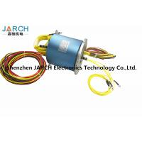 Buy cheap 4 Channels Electro Rotary Joint 6 Circuits slip ring Multi Sigle Mode With Aluminum Housing Material fiber optic joint from wholesalers