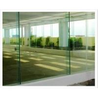 Quality 8mm Flat Stair Tempered Glass Panels Coloured , Solid Safety Glass Stair Panels for sale