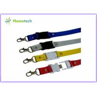 Wholesale Engraved Custom Lanyard Novelty USB Flash Drives , Micro USB Flash Drive from china suppliers