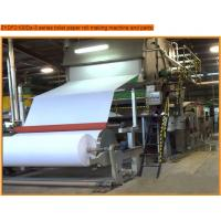 Wholesale toilet paper roll making machine with 7t/d capacity,paper machine from china suppliers