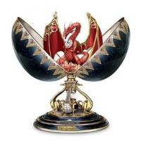 Wholesale Red Dragon Collectible Egg: Noble Protector by Ardleigh from china suppliers