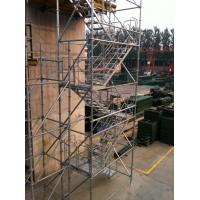 Wholesale Safe Ring-lock Scaffolding Stair Towers Convenient , Flexible to Disassemble from china suppliers