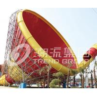 Wholesale Blue Large Tornado Water Slide Games Ashland / DSM Resin For Water Park from china suppliers
