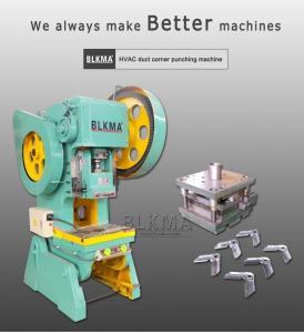 Wholesale sheet metal hvac duct corner punching press machine from china suppliers