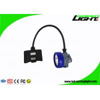 China Semi Corded LED Coal Miner Hard Hat Lamp High Beam With With Magnetic USB Cable on sale