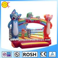 Wholesale OEM Mickey Mouse Inflatable Bounce House Waterproof 18oz PVC Tarpaulin from china suppliers
